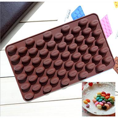 σιλικόνη μόδας φασόλια καλούπι σοκολάτα σχήμα πάγου ζελέ εργαλεία τούρτα καραμέλα κουζίνα μαγείρεμα κέικ διακοσμώντας bakeware