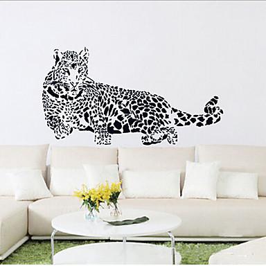 luipaard pvc muursticker