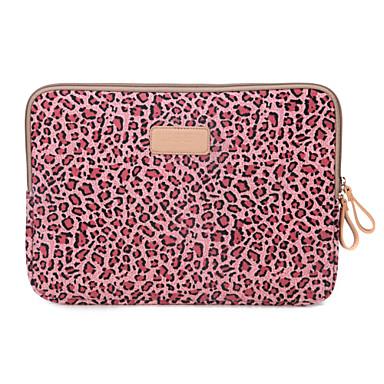 estampas de leopardo laptop caso mangas cobertura anti-vibração para MacBook Air 13 '' / MackBook Pro 13 '' com retina