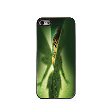 Iphone 5/iPhone 5S - Achterkantje - Grafisch/Cartoon/Metallic/Speciaal ontwerp/Overige/Noviteit ( Meerkleurig , Metaal/Abs/Kunststof )