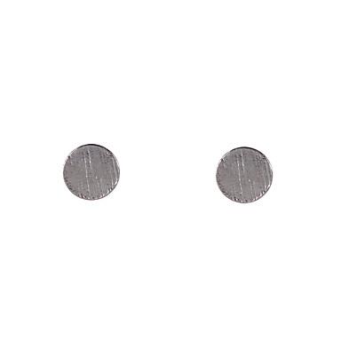 Oorknopjes Legering Cirkelvorm Geometrische vorm Zilver Gouden Sieraden Voor Bruiloft Feest Dagelijks Causaal Sport 2 stuks