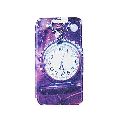 kinston® relógio de bolso em caso de corpo inteiro padrão de chuva de couro pu com suporte para SONY Xperia z3