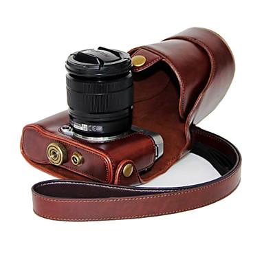 saco de óleo da pele do couro dengpin® pu destacável tampa da câmera caso para Fujifilm X-a2 x-a1 x-m1 (cores sortidas)