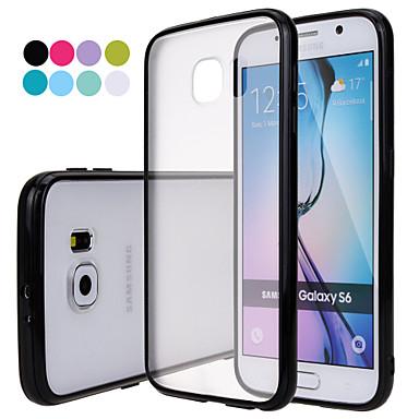 tok Για Samsung Galaxy Samsung Galaxy Θήκη Παγωμένη Ημιδιαφανές Πίσω Κάλυμμα Συμπαγές Χρώμα PC για S6