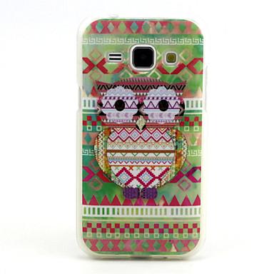 Para Samsung Galaxy Capinhas Case Tampa Estampada Capa Traseira Capinha Corujas PUT para Samsung Galaxy J1