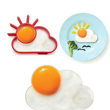 1pc Mutfak aletleri Paslanmaz Çelik Yaratıcı Mutfak Gadget DIY Kalıp Yumurta için