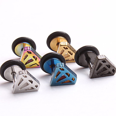 Feminino Ear Piercing Aço Inoxidável Jóias,1pc