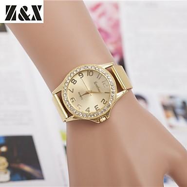 Mulheres Relógio de Pulso Relógio Elegante Relógio de Moda Quartzo Venda imperdível Lega Banda Amuleto Dourada