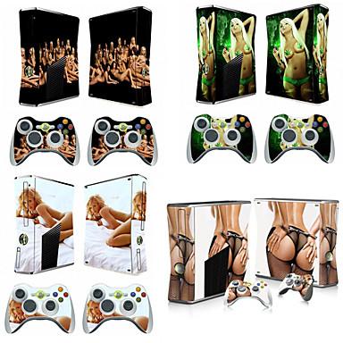 Gorace Dziewczyny Naklejki Ochronne Skory Dla Microsoft Xbox 360