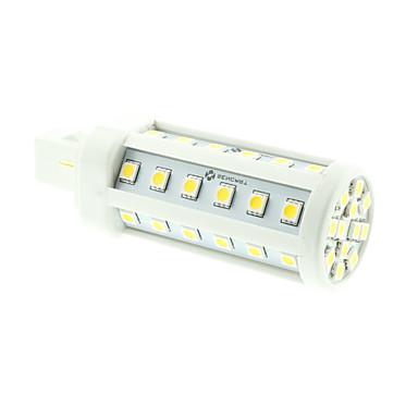 8w g24 conduziu luzes de milho t 48 smd 5060 550-600lm branco quente branco frio 3000-3500k 6000-6500k decorativo ac 85-265v