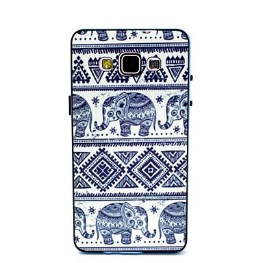 Para Samsung Galaxy Capinhas Estampada Capinha Capa Traseira Capinha Elefante PC Samsung A5