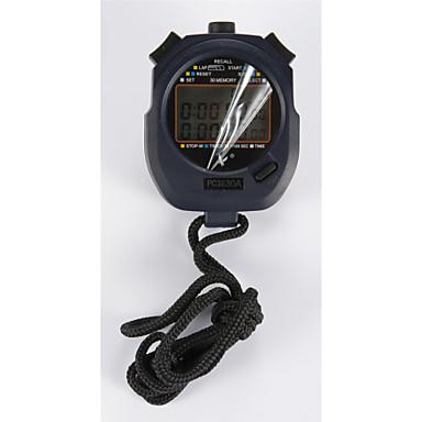 elektronische stopwatch timer pc3830a drie rij 30 geheugen stopwatch stopwatch timer beweging