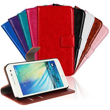 Για Samsung Galaxy Θήκη Θήκη καρτών / με βάση στήριξης / Ανοιγόμενη / Με σχέδια / Μαγνητική tok Πλήρης κάλυψη tok ΜονόχρωμηΣυνθετικό