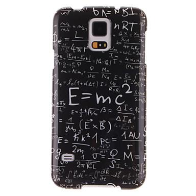 Για Samsung Galaxy Θήκη Με σχέδια tok Πίσω Κάλυμμα tok Λέξη / Φράση TPU Samsung S5 Mini