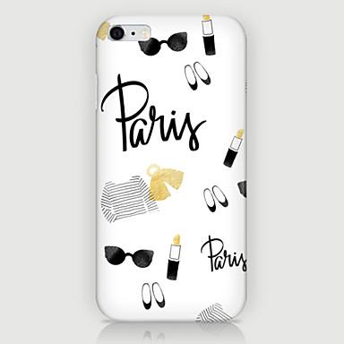 tok Για iPhone 5 Θήκη iPhone 5 Με σχέδια Πίσω Κάλυμμα Κινούμενα σχέδια Σκληρή PC για iPhone SE / 5s