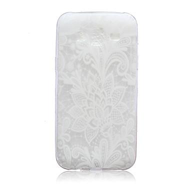 Nenúfares caso de telefone padrão TPU para Samsung Galaxy j5
