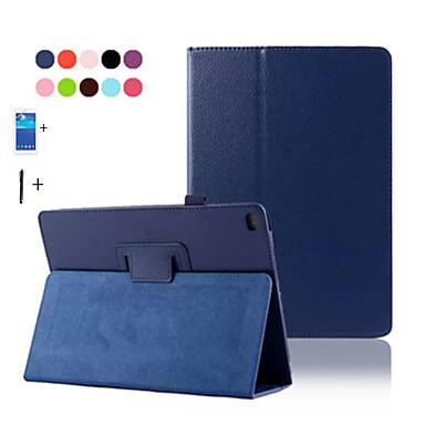 tok Για iPad Air 2 με βάση στήριξης Αυτόματη αδράνεια / αφύπνιση Πλήρης Θήκη Συμπαγές Χρώμα PU δέρμα για iPad Air 2