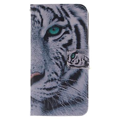 Capinha Para Wiko Capinhas Wiko Porta-Cartão Carteira Com Suporte Flip Estampada Capa Proteção Completa Animal Rígida PU Leather para