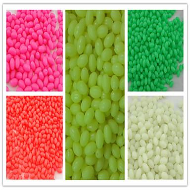 1 τεμ Ψάρεμα UV απαλή λάμψη Χάντρες Πλαστική ύλη Εύκολο στη χρήση Ψάρεμα με Δόλωμα