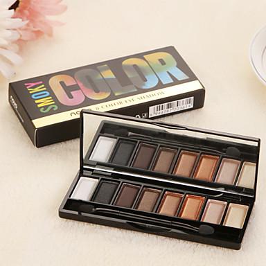 8 Oogschaduwpalet Mat / Glinstering Oogschaduw palet Poeder Normaal Dagelijkse make-up / Smokey make-up