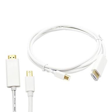 6ft / 1.8m blikseminslag mini-displayport naar kabeladapter voor macbook pro& MacBook Air