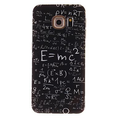 hoesje Voor Samsung Galaxy Samsung Galaxy hoesje IMD Achterkant Woord / tekst TPU voor S6 edge