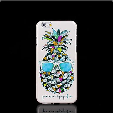 tok Για Apple iPhone 6 iPhone 6 Plus Λάμπει στο σκοτάδι Με σχέδια Πίσω Κάλυμμα Φρούτα Σκληρή PC για iPhone 6s Plus iPhone 6s iPhone 6