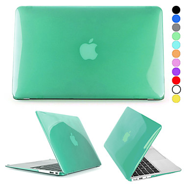 hat-prince kristal harde beschermende pc full body case voor de MacBook Air 11.6