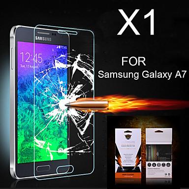 Screenprotector voor Samsung Galaxy A7 PET Voorkant screenprotector