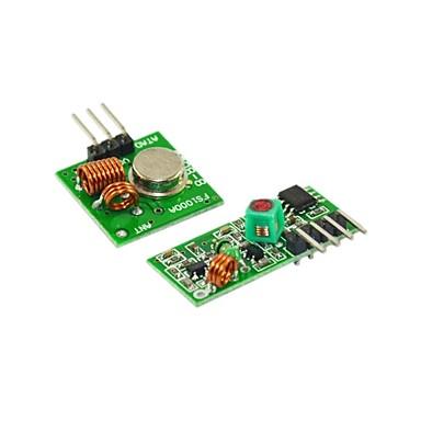 433m супер регенеративный модуль беспроводной передачи модуль mlarm передатчик приемник 1