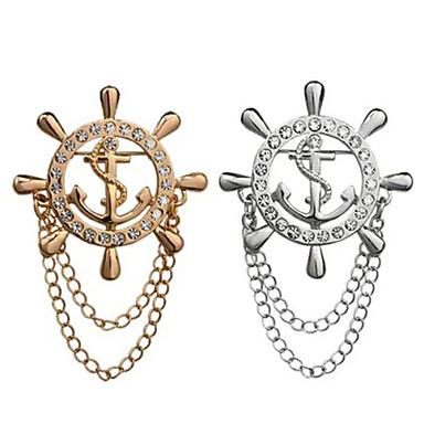 roer broche (1pc) ovaljewelry kwasten / crossover / bohemen elegante stijl