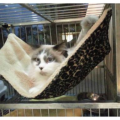 Kat bedden Huisdieren dekens Luipaard Vouwbaar Zacht Luipaard Voor huisdieren
