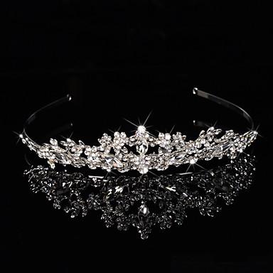 Mulheres Menina das Flores Prata de Lei Liga Capacete-Casamento Ocasião Especial Bandanas Flores Grinaldas 1 Peça