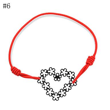 Γυναικεία Καρδιά Βραχιόλια Strand - Love LOVE 8# 9# 10γρ Βραχιόλια Για Πάρτι Καθημερινά Causal