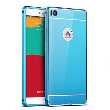 Back Cover Plating / Mirror Solid Color Acrylic Hard Case Cover For HuaweiHuawei P9 / Huawei P8 / Huawei P8 Lite / Huawei P7 / Huawei