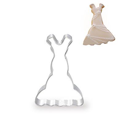 mouwen fishtail bruidsjurk / prinses jurk vorm koekjessnijders fuirt gesneden mallen, roestvrij staal