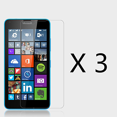 (3 stuks) high definition screen protector voor microsoft Lumia 640