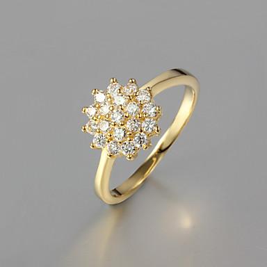 Dames Statement Ring Modieus Verguld Kostuum juwelen Bruiloft Feest Dagelijks Causaal