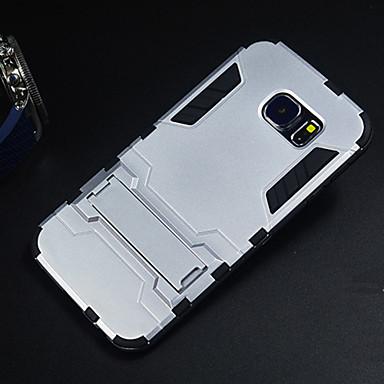 Voor Samsung Galaxy hoesje Hoesje cover Schokbestendig met standaard Achterkantje hoesje Schild PC voor Samsung S6 edge