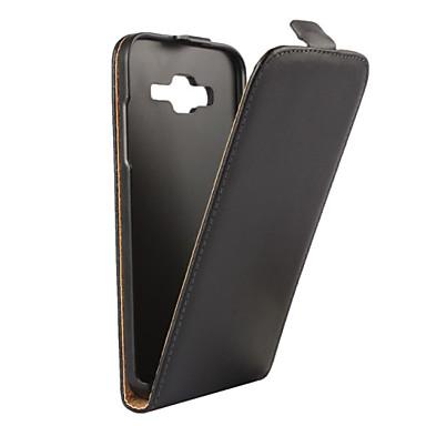 Para Samsung Galaxy Capinhas Flip Capinha Corpo Inteiro Capinha Cor Única Couro PU para SamsungJ5 (2016) / J5 / J3 / J3 (2016) / J2 / J1