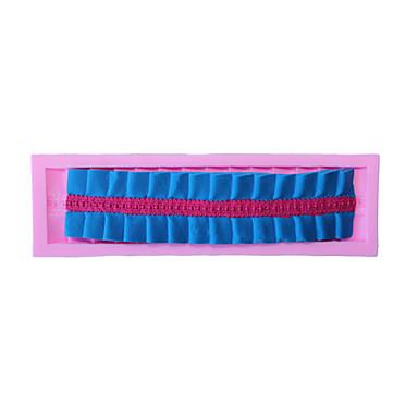 bakeware σιλικόνη ρυτίδες φοντάν μοτίβο μούχλα τούρτα διακόσμηση μούχλα