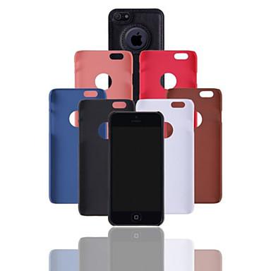 iphone 7 plus 4 inch luxe pu lederen tas terug te dekken voor de iPhone 6s 6 plus