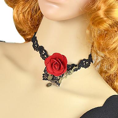 Γυναικεία Σχήμα Κολάρα Δαντέλα Κολάρα Πάρτι Καθημερινά Causal Κοστούμια Κοσμήματα
