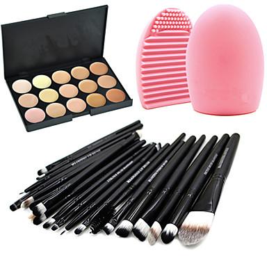 20 Wenkbrauwkwast / Vloeibare Eyelinerkwast / Wimperkam (rond) / Blushkwast / Lippenkwast / Eyelinerkwast / Brush Sets / Oogschaduwkwast