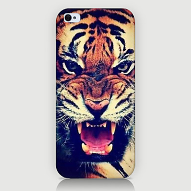 o caso da tampa do caso do telefone do teste padrão do tigre para iphone5c casos do iphone