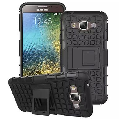 Para Samsung Galaxy Capinhas Antichoque / Com Suporte Capinha Capa Traseira Capinha Armadura PC Samsung E7 / E5