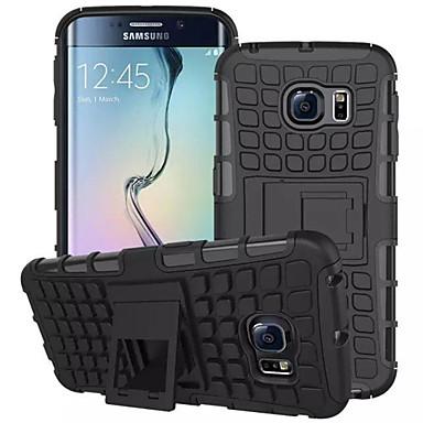 DE JI Carcasă Pro Samsung Galaxy Samsung Galaxy pouzdro Peněženka / Nárazuvzdorné / se stojánkem Zadní kryt Brnění PC pro S8 Plus / S8 / S7 edge