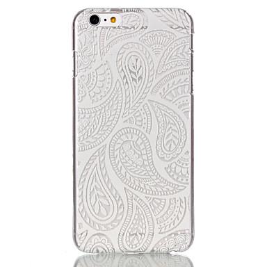 Para Capinha iPhone 6 / Capinha iPhone 6 Plus Ultra-Fina / Estampada Capinha Capa Traseira Capinha Design de Renda Rígida PCiPhone 6s