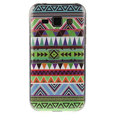 Voor Samsung Galaxy hoesje IMD hoesje Achterkantje hoesje Lijnen / golven TPU Samsung J7 / J5 / J1
