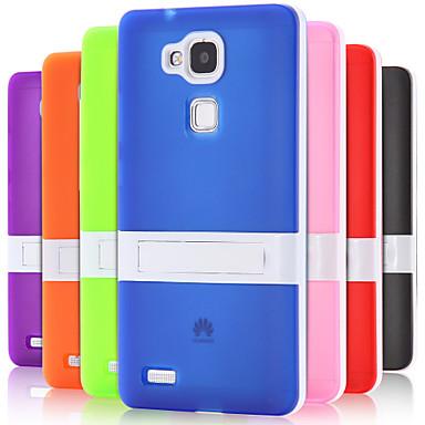 tok Για Huawei Huawei Mate 7 Θήκη Huawei με βάση στήριξης Πίσω Κάλυμμα Συμπαγές Χρώμα Σκληρή TPU για Huawei Mate 7 Huawei